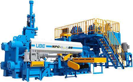 Extrusion Presses | Product Lineup | Ube Machinery
